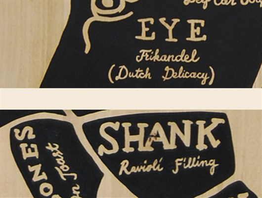 Support_The_Locals_-_The_Butcher_Sign_Painting_on_Wood_Eye_Frikandel_Shank_by_Shon_Price.jpg